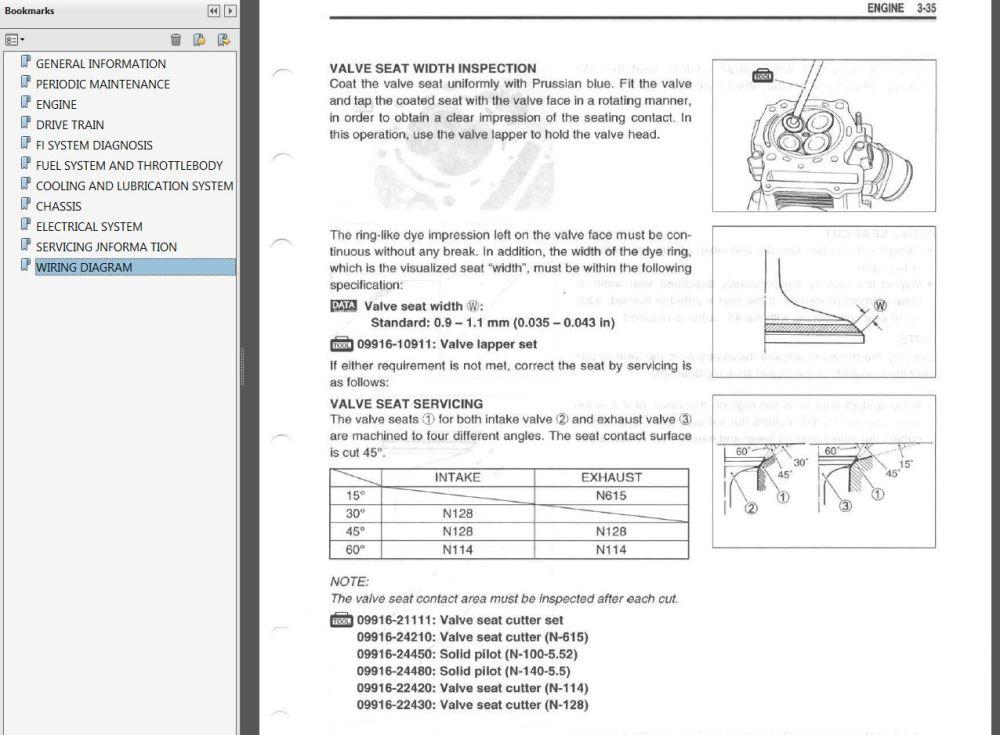 medium resolution of 2005 suzuki king quad wiring diagram example electrical wiring rh huntervalleyhotels co 2005