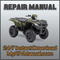 1990 Yamaha Moto 4 350 Wiring Diagram 700r4 1987 Diagrams 2007 2011 Grizzly Irs Hunter 4wd Service Manual Restored