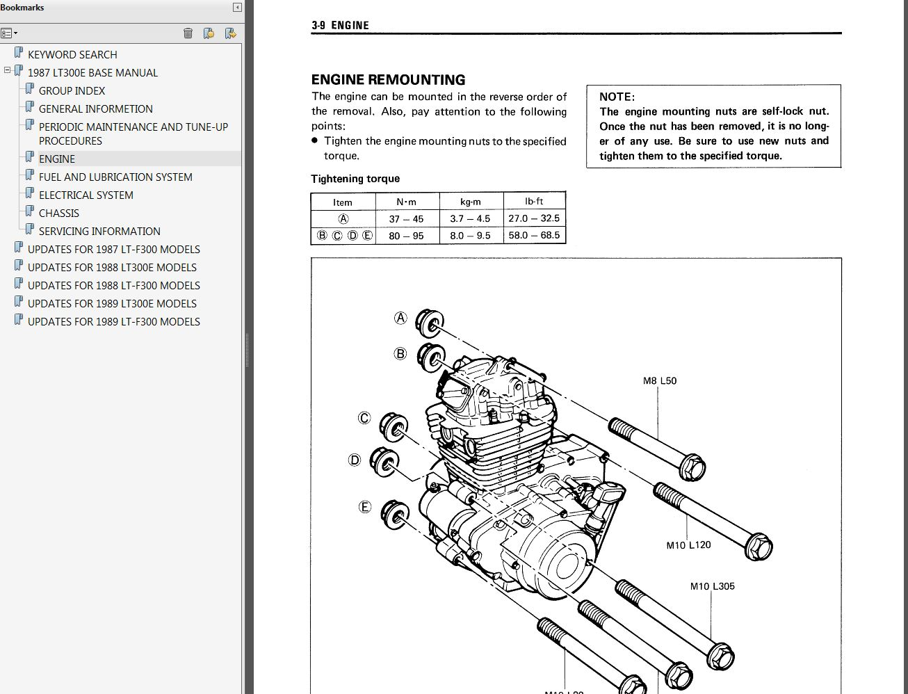 hight resolution of suzuki lt250r wiring diagram auto electrical wiring diagram source 1987 1989 suzuki lt300e lt f300