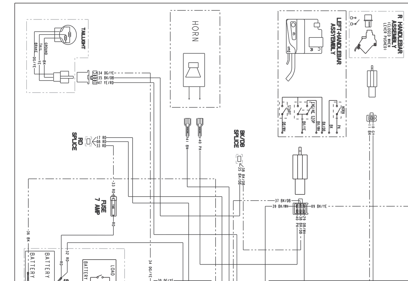 polaris sportsman 500 wiring diagram thermostat color codes 800 get free image