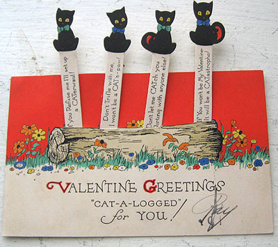 Vintage Valentines Day Cards At Auction Auction Finds
