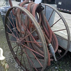 Kitchen Carts French Country Table Wheeled Fire Extinguisher From 1900s | Auction Finds