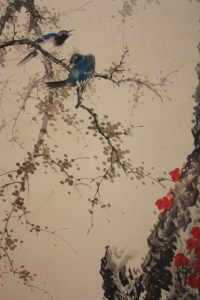 Birds, woman, cherry blossoms or hell, Classical Japanese ...