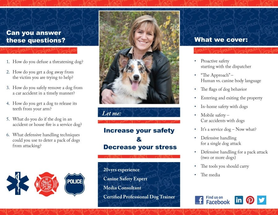First Responder Animal Control and Response Dog Training