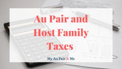 Au Pair and Host Family Taxes