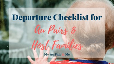Departure Checklist for Families and Au Pairs