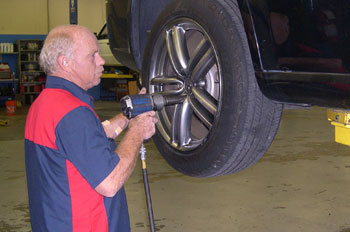 Tire Rotation - Hickory, NC