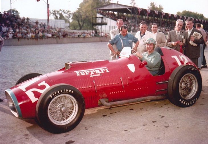 The 375 america's tubular steel chassis was an updated version of the type used for the 342 america. 1952 Ferrari 375 Indianapolis
