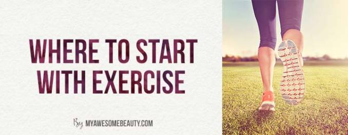 where to start with exercise