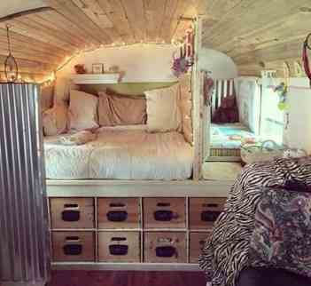 Camper Van Kids Bed Inspiration 15