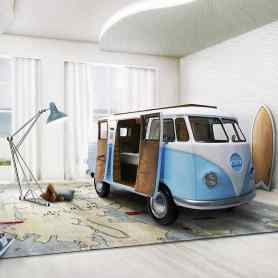 Camper Van Kids Bed Inspiration 17