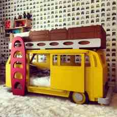 Camper Van Kids Bed Inspiration 31