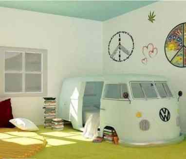 Camper Van Kids Bed Inspiration 37
