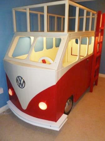 Camper Van Kids Bed Inspiration 40