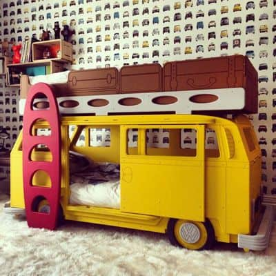 Camper Van Kids Bed Inspiration 55