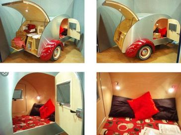 Camper Van Kids Bed Inspiration 59