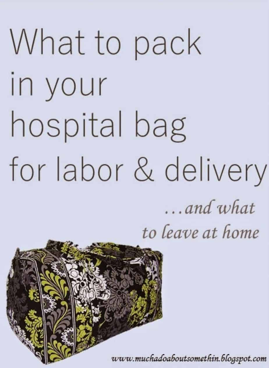 Ideas About Hospital Bag For Mom To Be 29