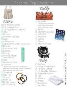 Ideas About Hospital Bag For Mom To Be 34