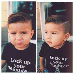 Little Boy Haircuts Inspiration 23