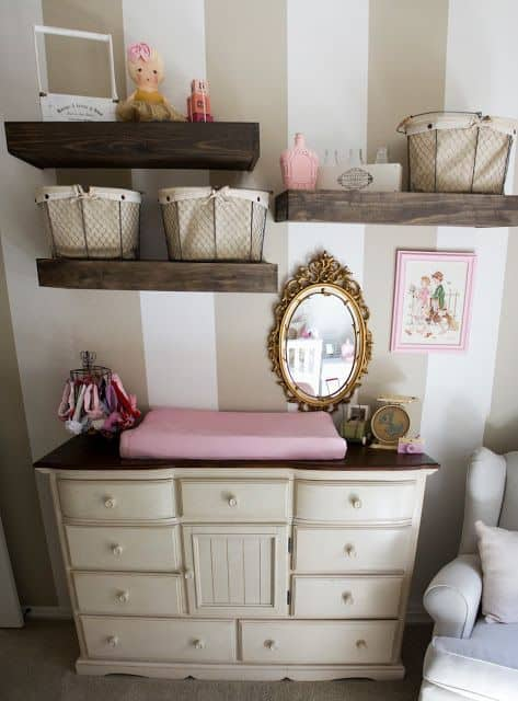 Changing Table Ideas & Inspiration 86