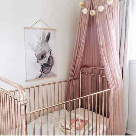 Rose Gold Crib 10