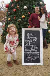 Christmas Pregnancy Announcement 16