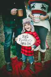 Christmas Pregnancy Announcement 39