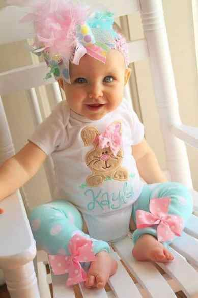 Newborn Easter Outfit 4