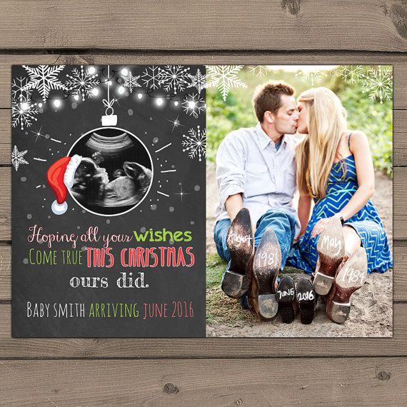 Christmas Pregnacy Announcment 11