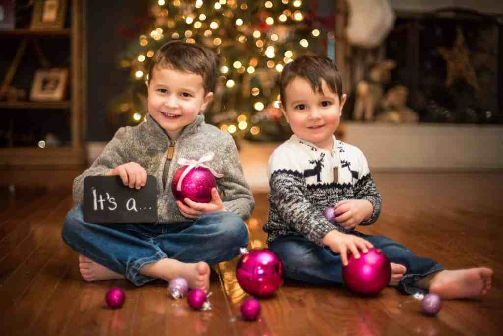 Twin Christmas Announcement 18
