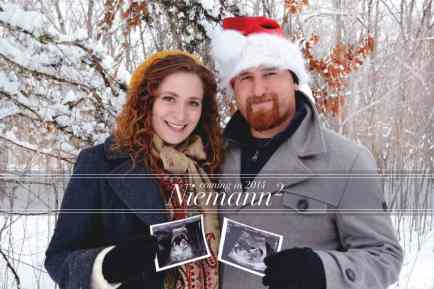 Twin Christmas Announcement 37