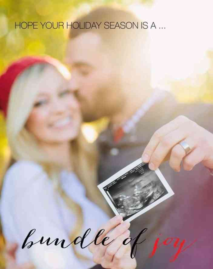 Twin Christmas Announcement 41
