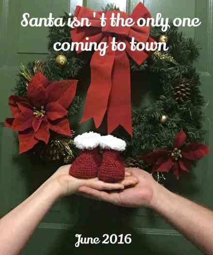 Twin Christmas Announcement 7