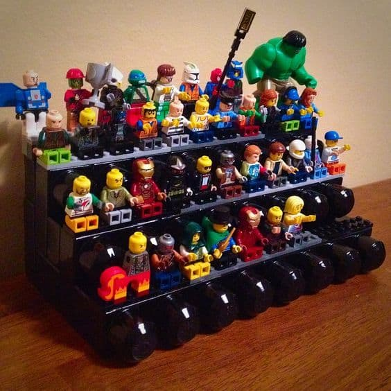 DIY Lego Minifigure Storage 17 Result