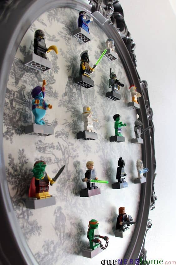 DIY Lego Minifigure Storage 8 Result