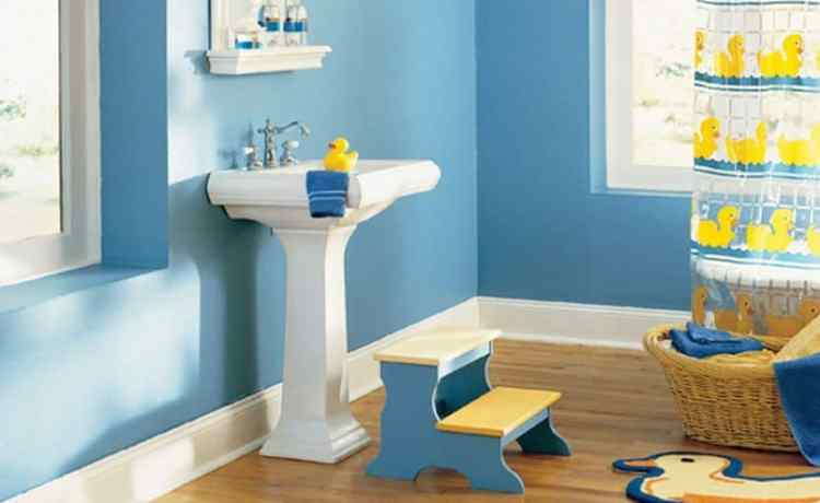18 Kids Bathroom Ideas To Make Bath More Fun - mybabydoo