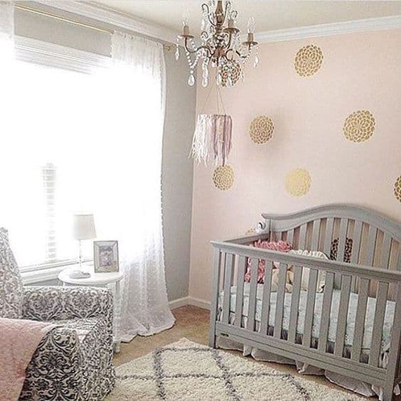 Pink Grey Nursery 10 Result