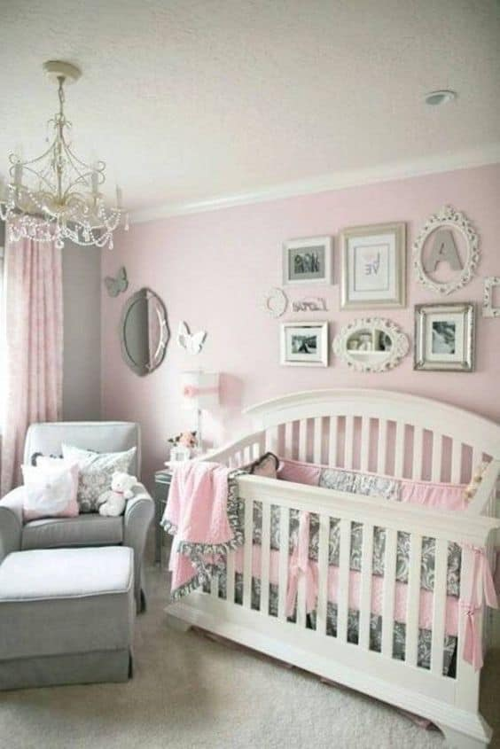 Pink Grey Nursery 14 Result