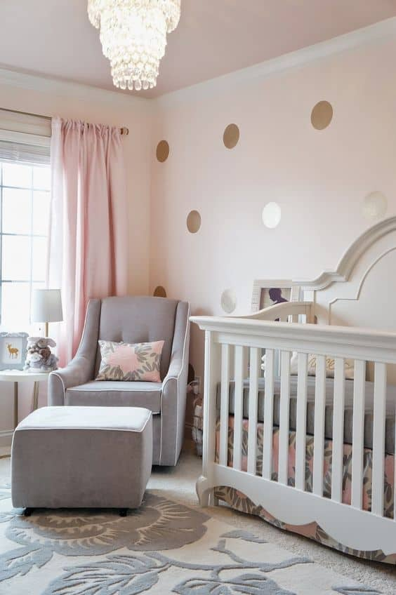 Pink Grey Nursery 9 Result