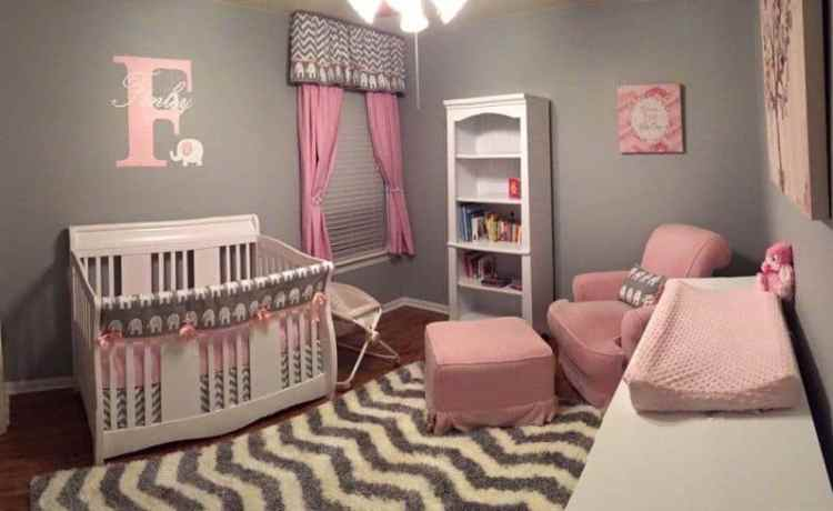 15 Timeless Perfect Combination Of Pink Gray Nursery Mybabydoo