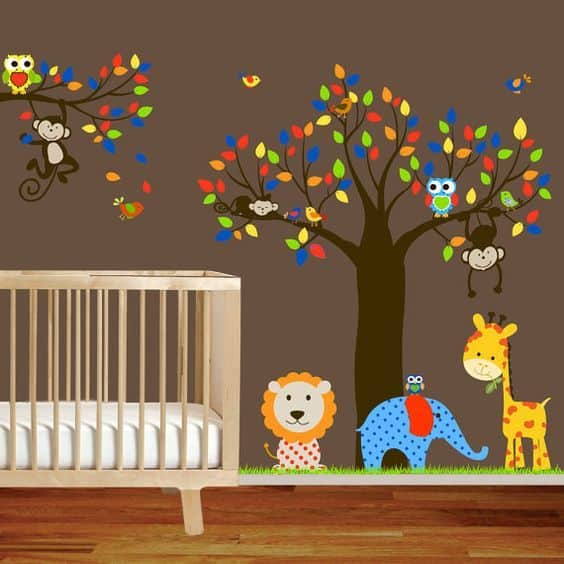 Wall Sticker Baby Nursery 11 Result