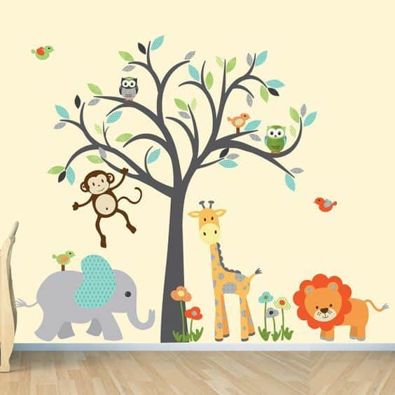 Wall Sticker Baby Nursery 9 Result