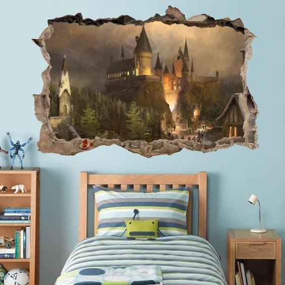 harry potter bedroom ideas