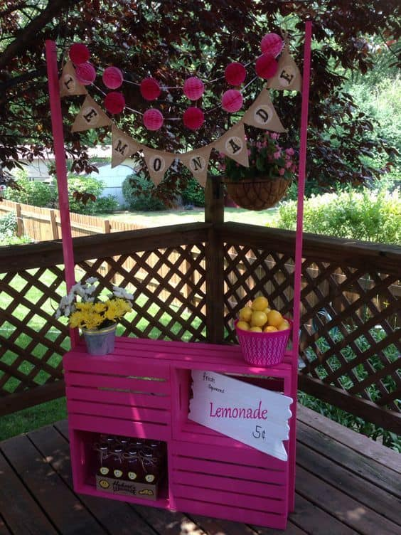 10 Lemonade Stand Ideas for Better Summer Days - mybabydoo