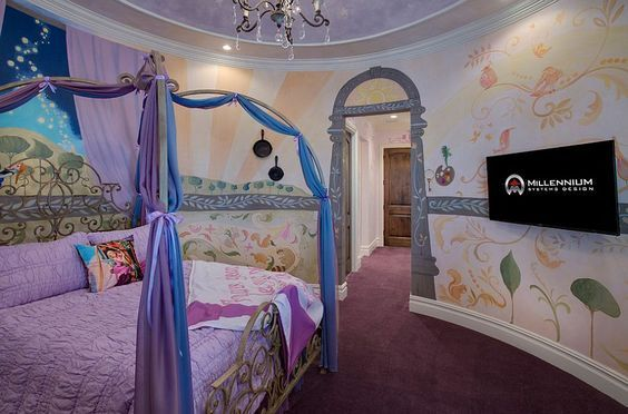 Princess-Themed Bedroom
