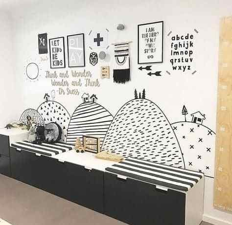 Fascinating Kid\'s Playroom Decorating Ideas to Help Your Child Learn ...
