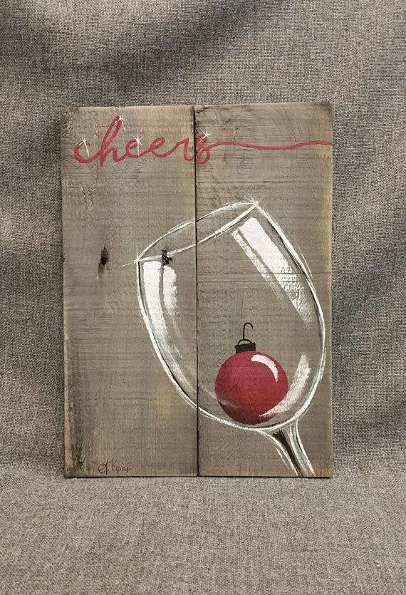 Easy Christmas Paintings.18 Easy Christmas Canvas Painting Ideas For Kids Mybabydoo