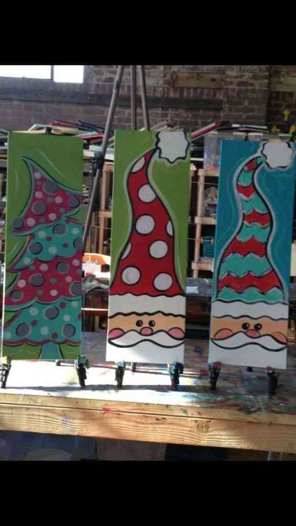 Christmas Canvas Painting 10