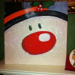 Christmas Canvas Painting 12