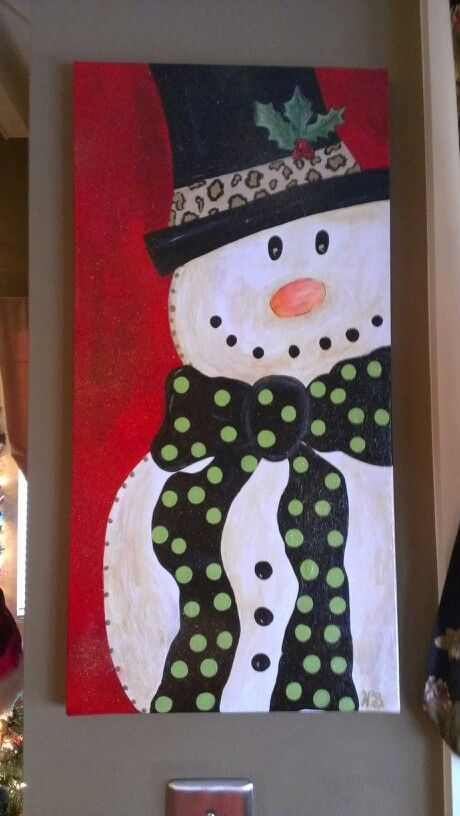 Christmas Canvas Painting 24